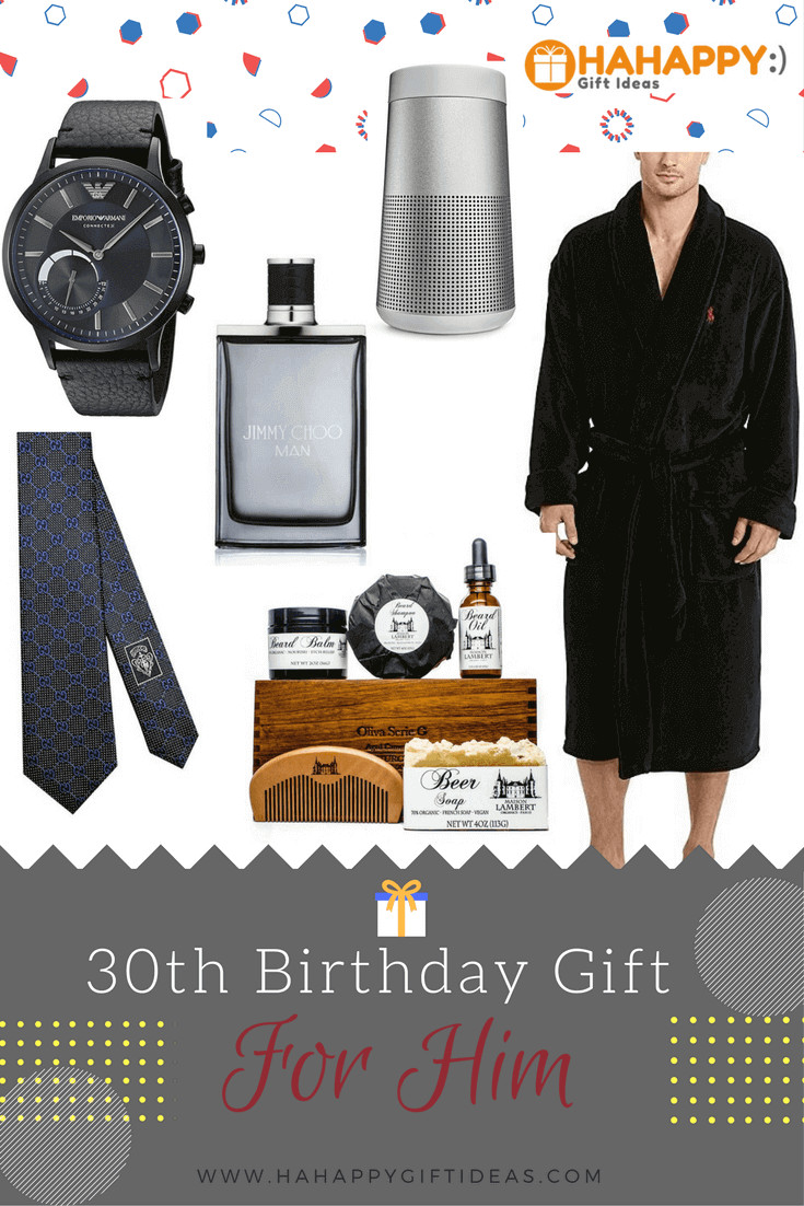 Best ideas about 30th Birthday Gift Ideas For Him . Save or Pin 16 Best 30th Birthday Gifts For Him Now.