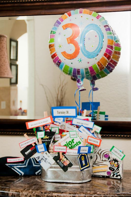 Best ideas about 30Th Birthday Gift Ideas For Sister . Save or Pin 30 Gifts for 30 Years 30th Loving My Husband Now.
