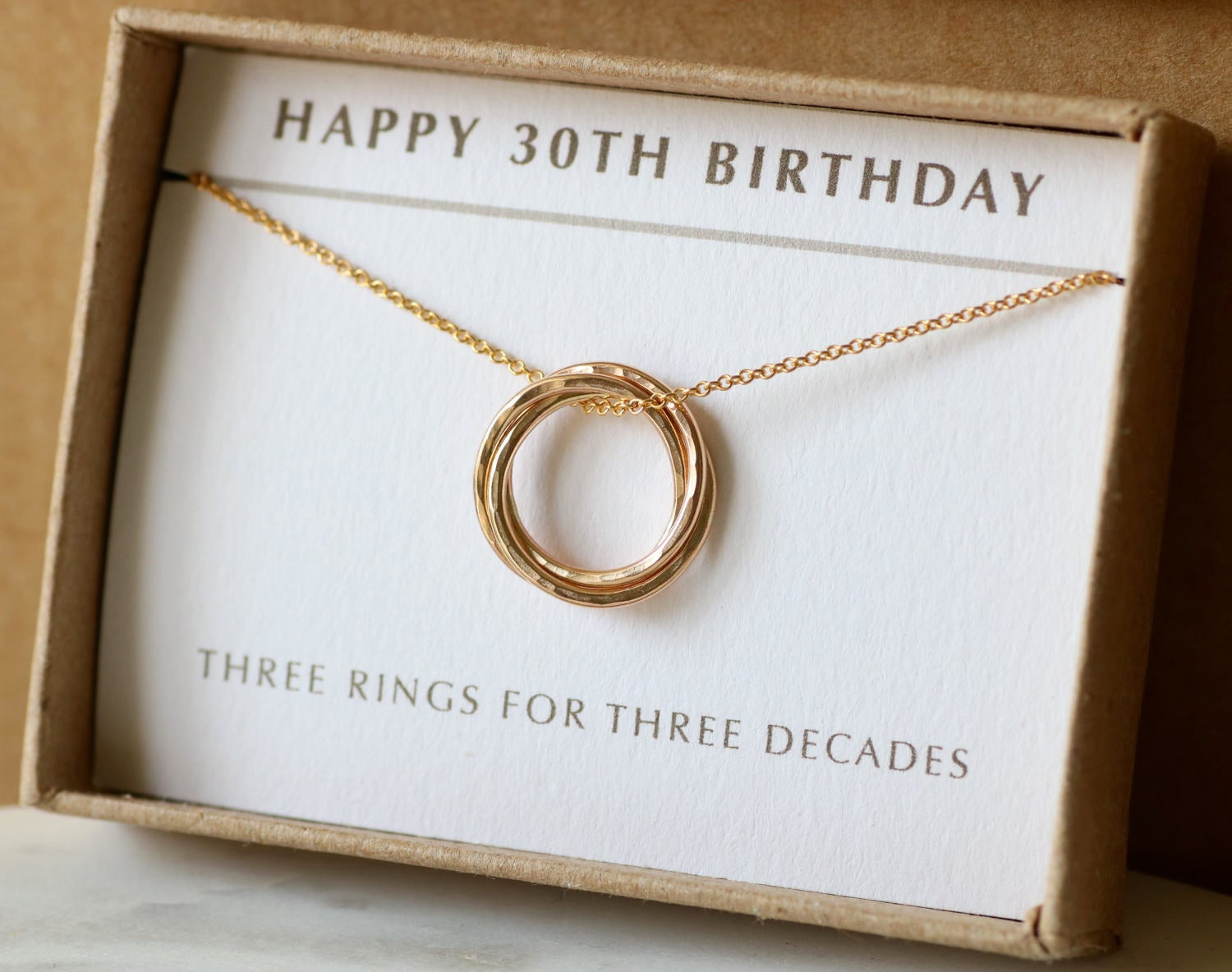 Best ideas about 30Th Birthday Gift Ideas For Sister . Save or Pin 30th birthday t idea 3 sisters necklace 3 best friend Now.