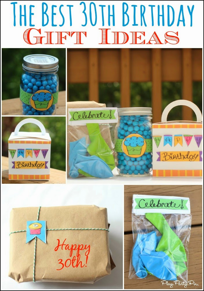 Best ideas about 30Th Birthday Gift Ideas . Save or Pin 30 Creative 30th Birthday Gift Ideas for Him that He Will Now.
