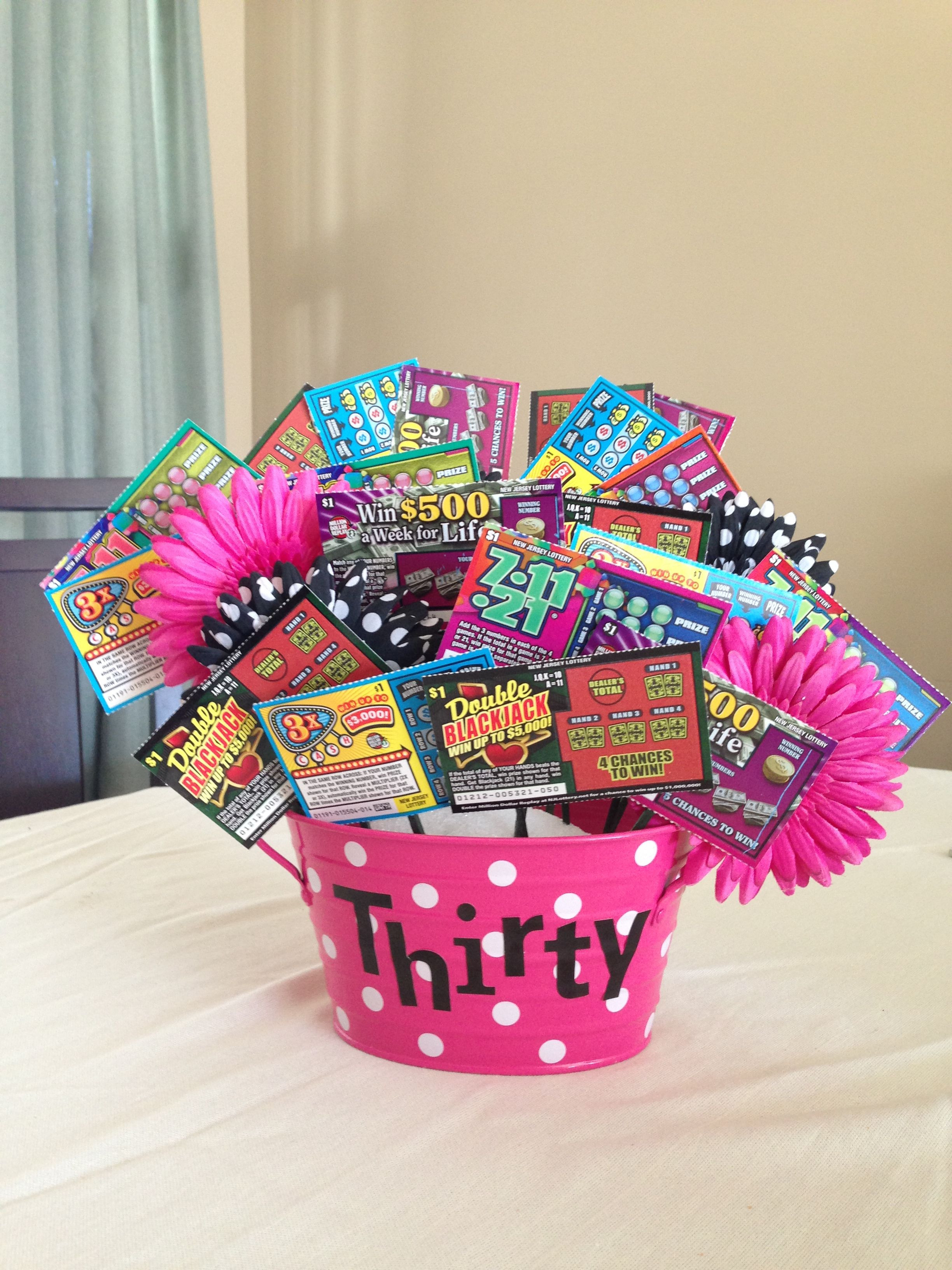 Best ideas about 30Th Birthday Gift Ideas . Save or Pin 30th birthday t Lottery Ticket Ideas Now.