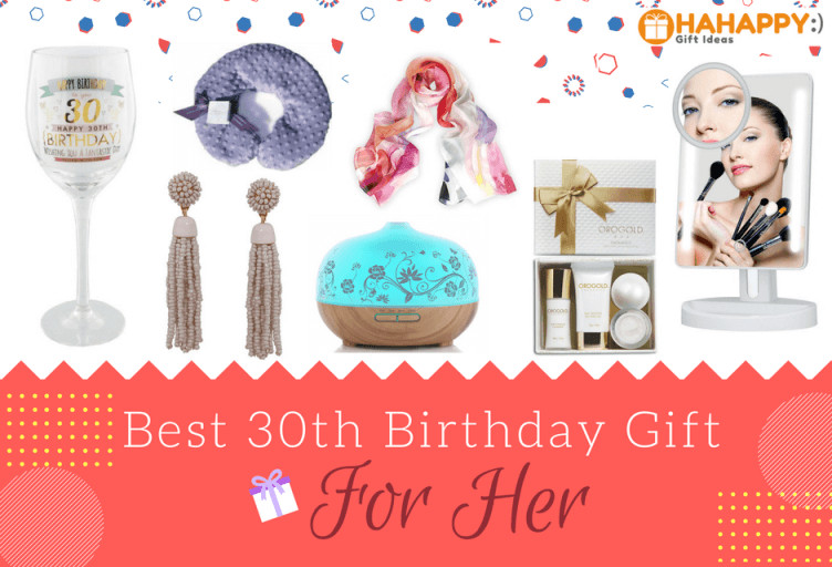 Best ideas about 30th Birthday Ideas For Her . Save or Pin 18 Great 30th Birthday Gifts For Her Now.