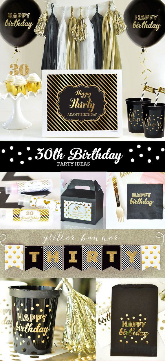 Best ideas about 30th Birthday Ideas For Her . Save or Pin 30th Birthday Ideas 30th Birthday Decorations Sign for Now.