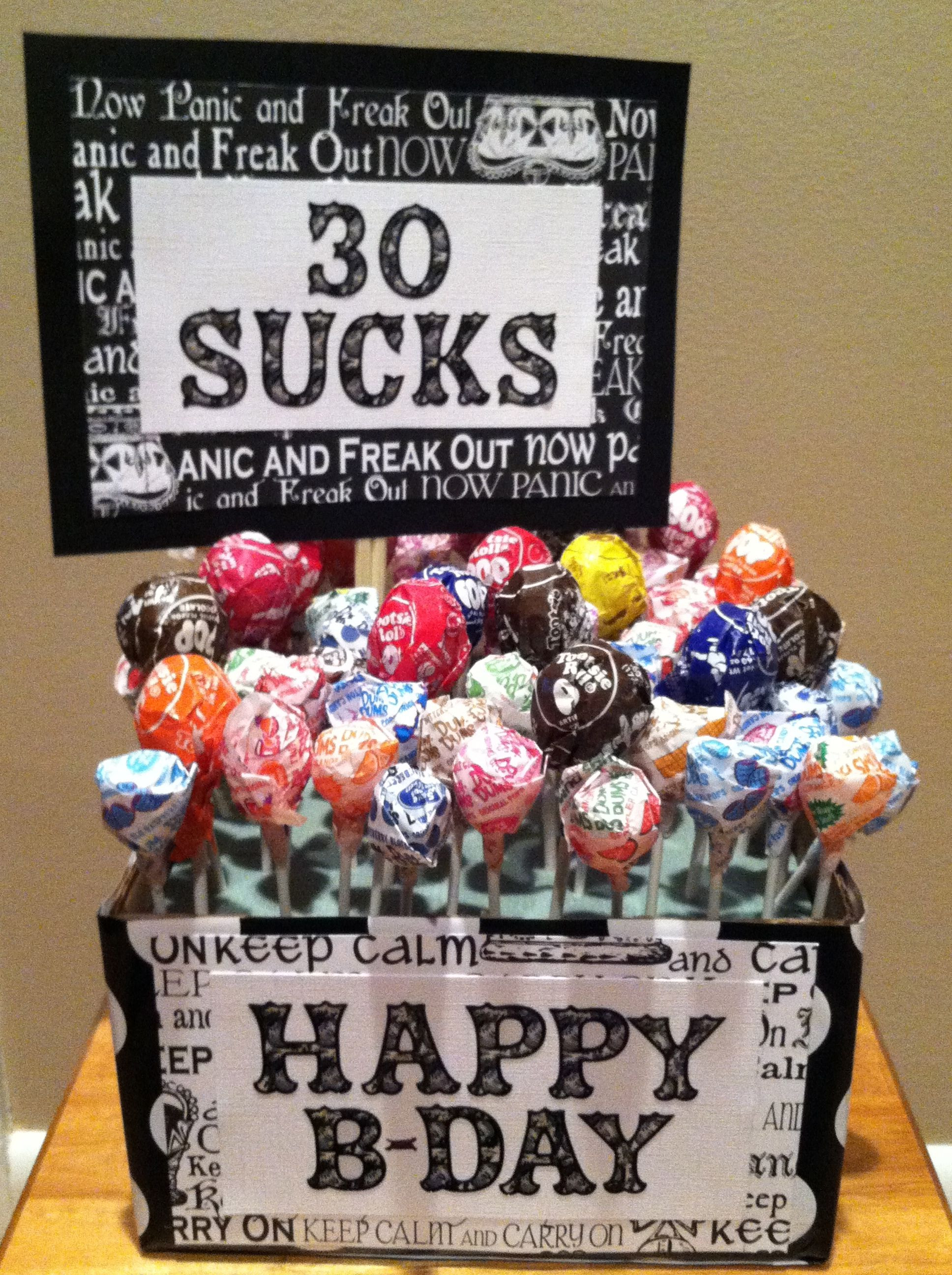 Best ideas about 30th Birthday Ideas . Save or Pin 30th Birthday Idea Gifts To Give Now.
