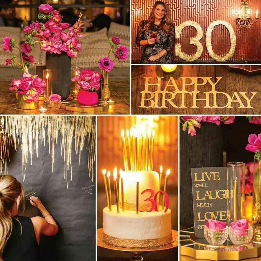 Best ideas about 30th Birthday Party Decor . Save or Pin 30th birthday party theme Parties Now.
