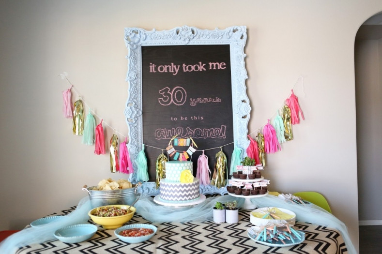 Best ideas about 30th Birthday Party Decor . Save or Pin 7 Clever Themes for a Smashing 30th Birthday Party Now.