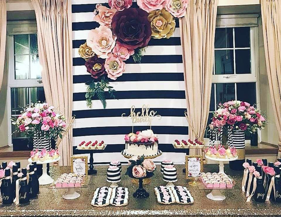 "Best ideas about 30th Birthday Party Decorations . Save or Pin Kate Spade inspired Birthday ""30th Birthday party"" Now."