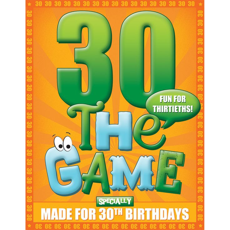 Best ideas about 30th Birthday Party Games . Save or Pin 30th Birthday Game Now.