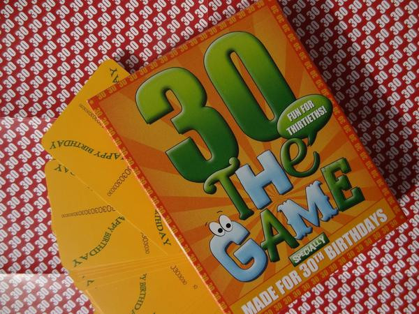 Best ideas about 30th Birthday Party Games . Save or Pin 30th Birthday Game Go For It Games UK Now.