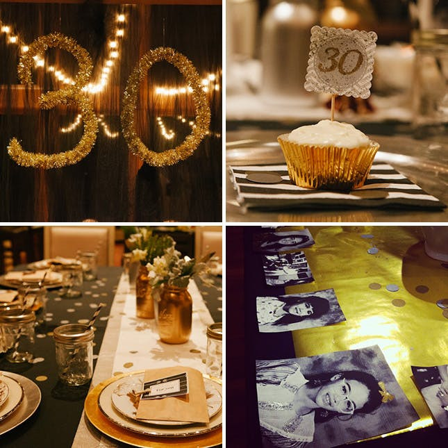 Best ideas about 30th Birthday Party Ides . Save or Pin 20 Ideas for Your 30th Birthday Party Now.