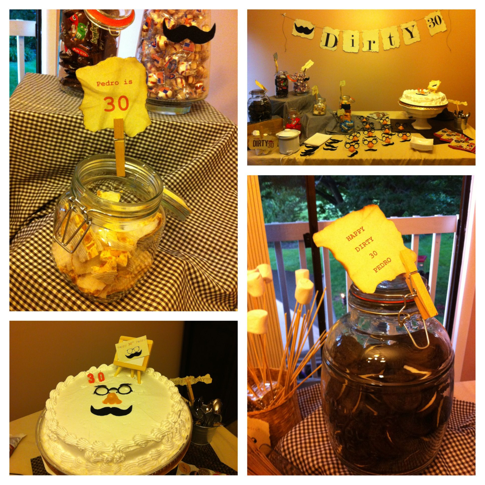Best ideas about 30th Birthday Party Ides . Save or Pin 30th birthday party 30th Birthday Ideas Now.
