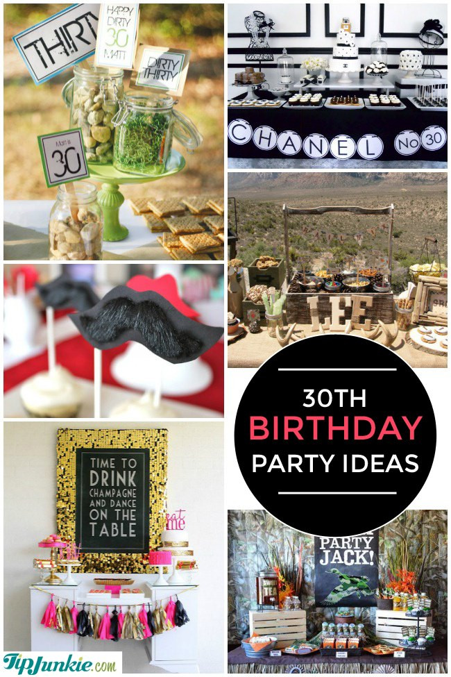 Best ideas about 30th Birthday Party Ides . Save or Pin 28 Amazing 30th Birthday Party Ideas also 20th 40th Now.