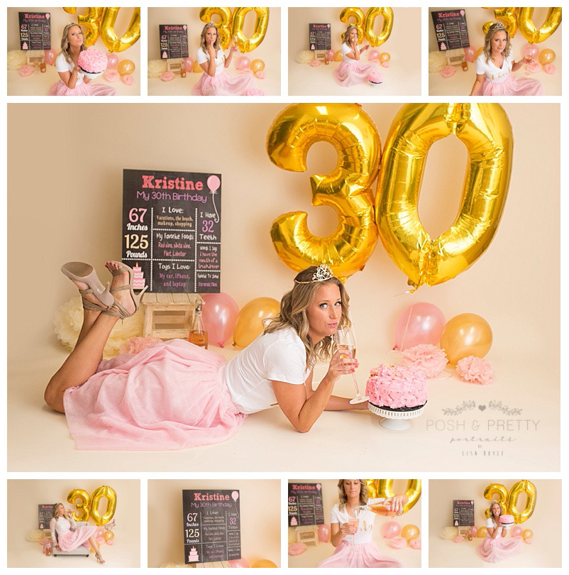 Best ideas about 30th Birthday Photoshoot Ideas . Save or Pin 30th birthday cake smash dirty thirty birthday Now.