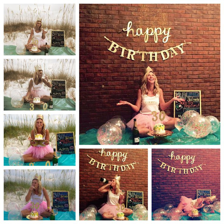 Best ideas about 30th Birthday Photoshoot Ideas . Save or Pin 30th Birthday smash cake photo shoot ideas Now.