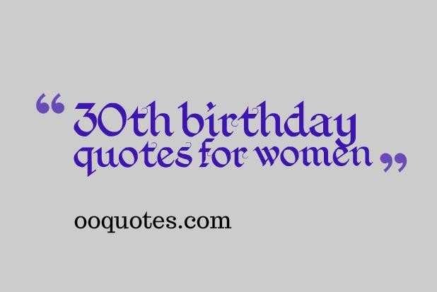 Best ideas about 30th Birthday Quotes . Save or Pin Funny 30th Birthday Quotes For Women QuotesGram Now.
