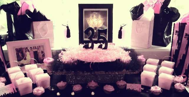 Best ideas about 35th Birthday Decorations . Save or Pin 17 Best images about The BIG 40 on Pinterest Now.