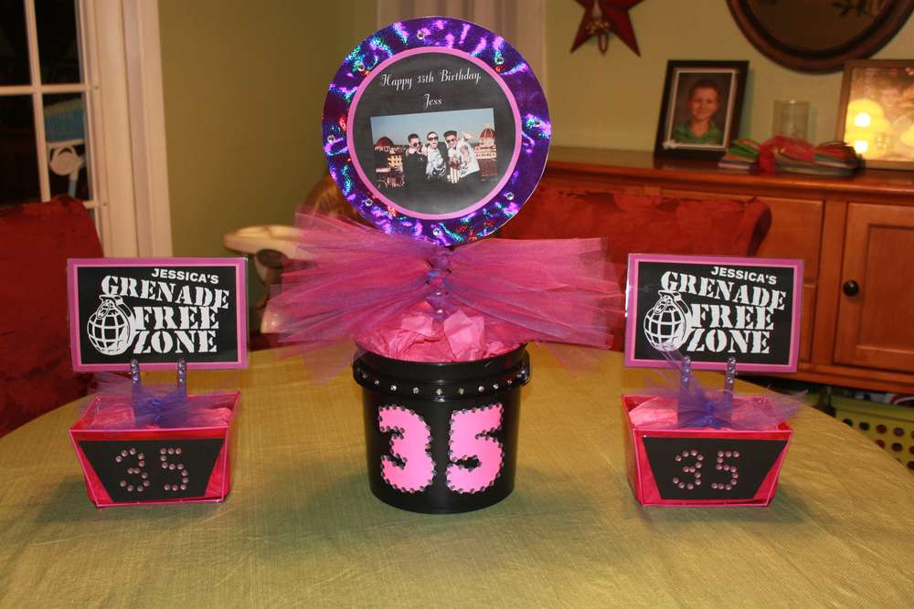 Best ideas about 35th Birthday Decorations . Save or Pin Jersey Shore Birthday Party Ideas 19 of 29 Now.