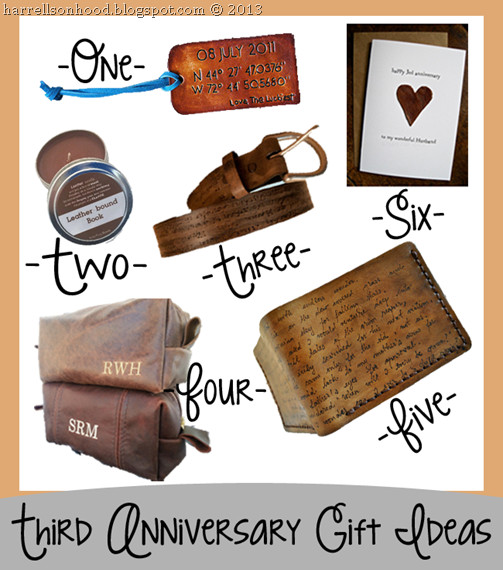 Best ideas about 3Rd Anniversary Gift Ideas For Him . Save or Pin third anniversary leather t ideas for him etsy finds Now.