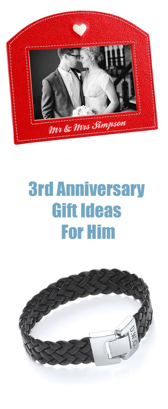 Best ideas about 3Rd Anniversary Gift Ideas For Him . Save or Pin 3rd anniversary ts Anniversary t by year and Now.