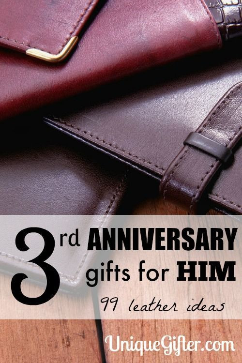Best ideas about 3Rd Anniversary Gift Ideas For Him . Save or Pin Leather 3rd Anniversary Gifts for Him Now.