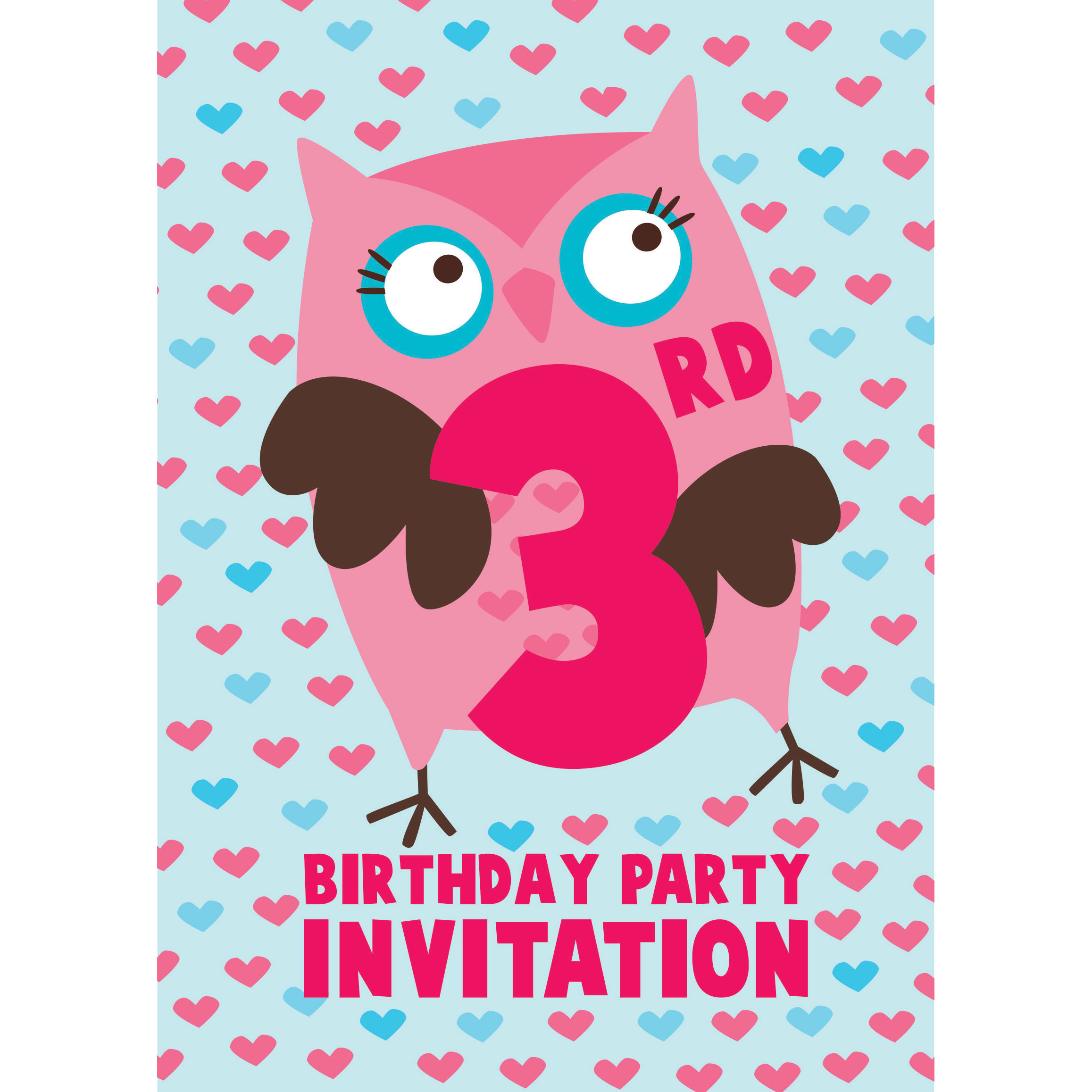 Best ideas about 3rd Birthday Invitations . Save or Pin 3rd Birthday Party Supplies Now.