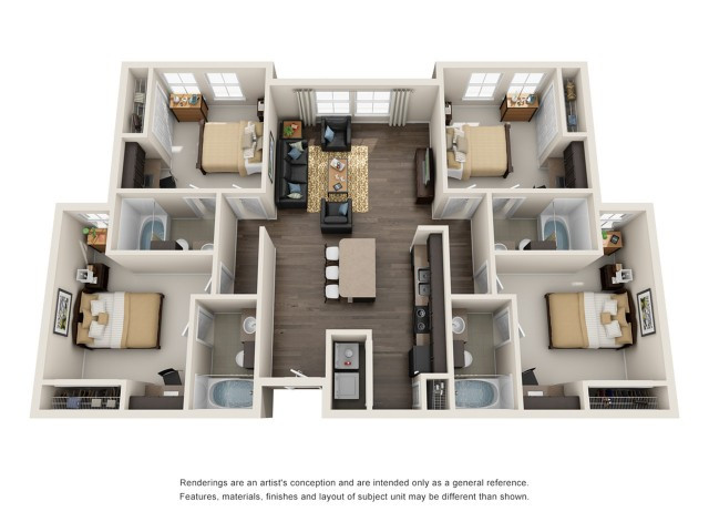 Best ideas about 4 Bedroom Apartments . Save or Pin Apartments For Rent in College Park MD Now.