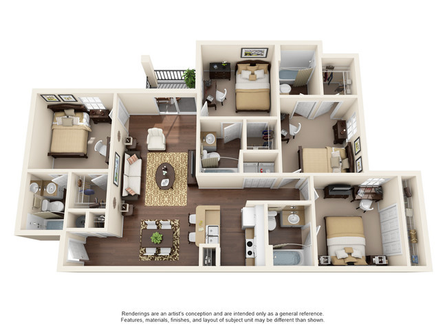 Best ideas about 4 Bedroom Apartments . Save or Pin College Station Rentals Orlando FL Now.