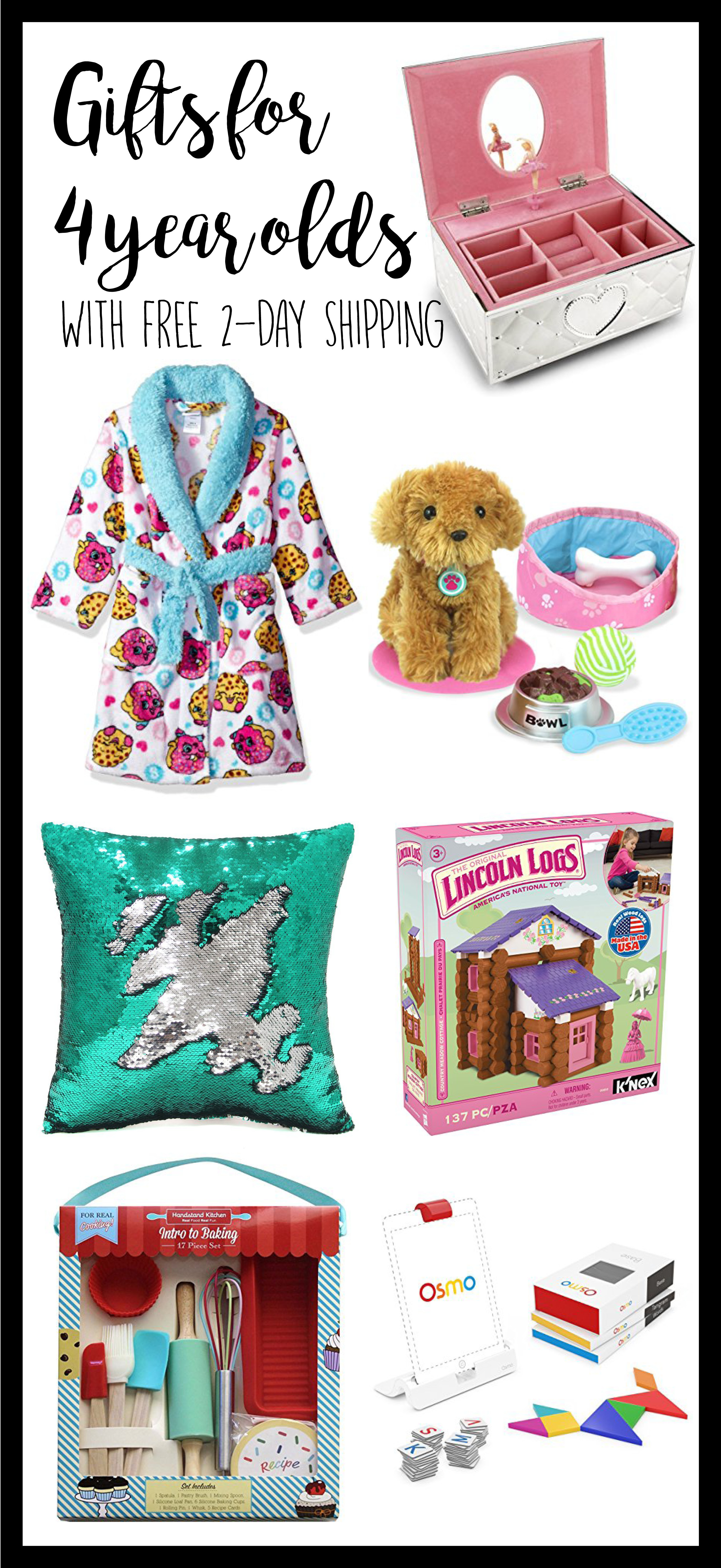 Best ideas about 4 Year Old Birthday Gift Ideas . Save or Pin 4 Year Old Gift Ideas Gift ideas for 4 year old Girls Now.