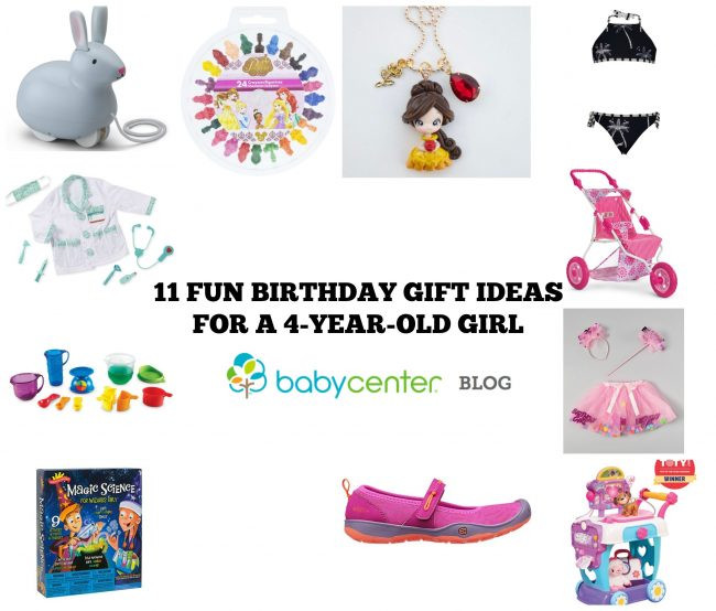 Best ideas about 4 Year Old Birthday Gift Ideas . Save or Pin 11 super fun birthday t ideas for a 4 year old girl Now.