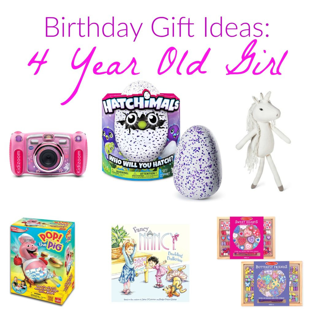 Best ideas about 4 Year Old Birthday Gift Ideas . Save or Pin Birthday Girl Wish List Now.