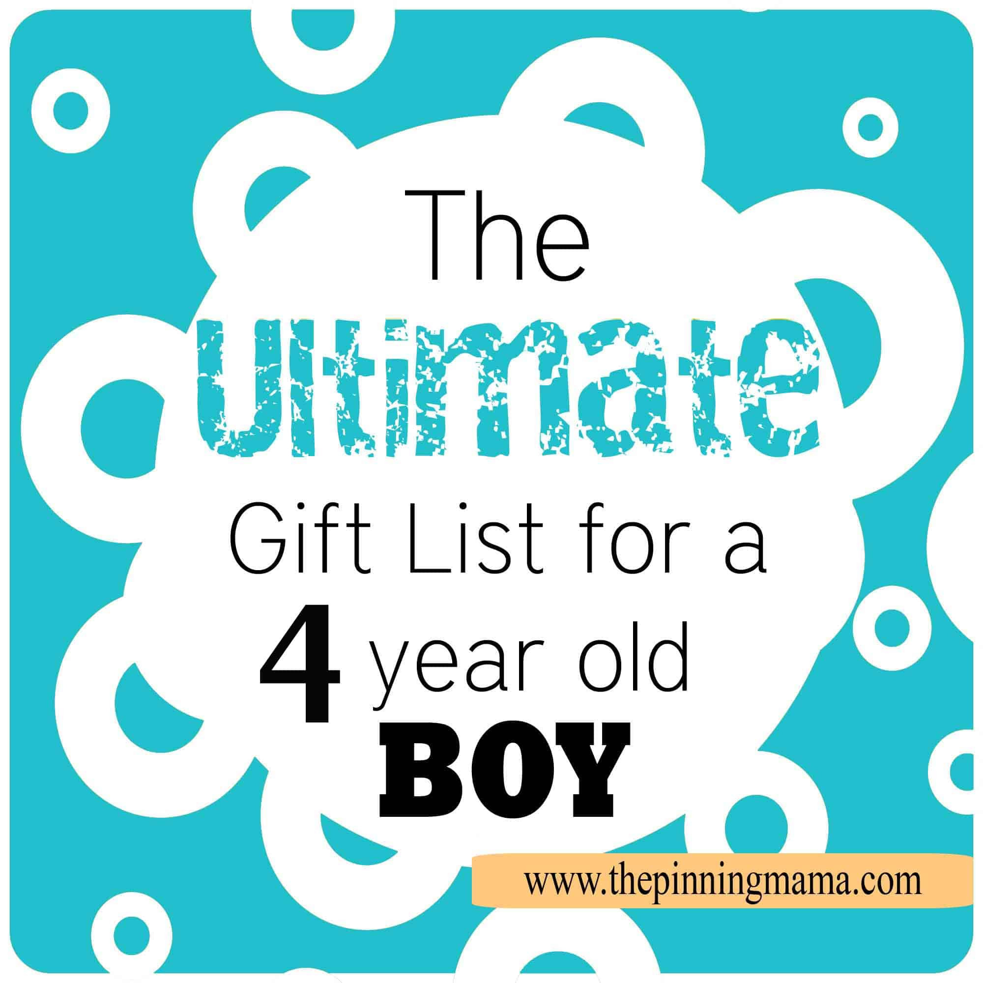 Best ideas about 4 Year Old Birthday Gift Ideas . Save or Pin The Best Gift Ideas for a 4 Year Old Boy Now.