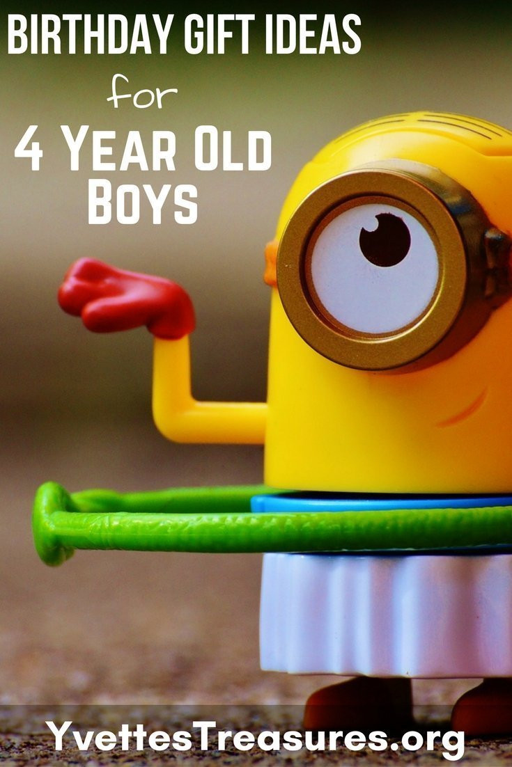 Best ideas about 4 Year Old Birthday Gift Ideas . Save or Pin 40 Best Birthday Gift Ideas For 4 Year Old Boys Now.