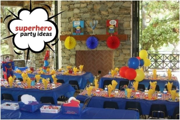 Best ideas about 4 Year Old Birthday Party Ideas . Save or Pin Superhero Themed Birthday Party for 4 Year Old Boys Now.