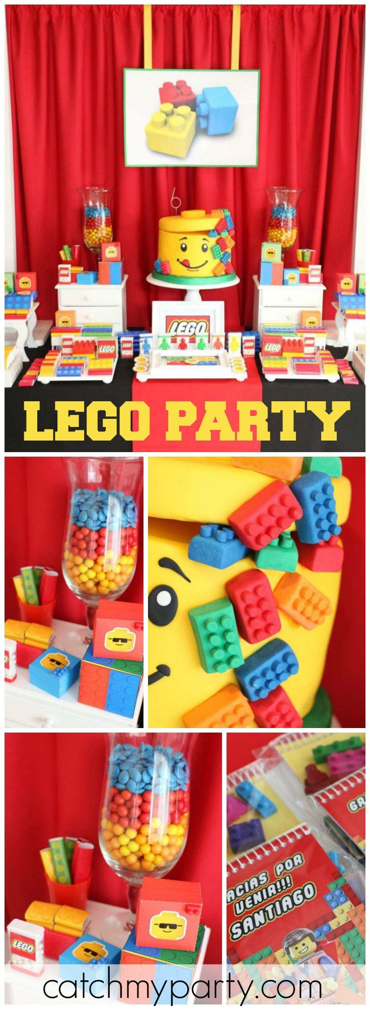 Best ideas about 4 Year Old Birthday Party Ideas . Save or Pin 362 best Lego Party Ideas images on Pinterest Now.