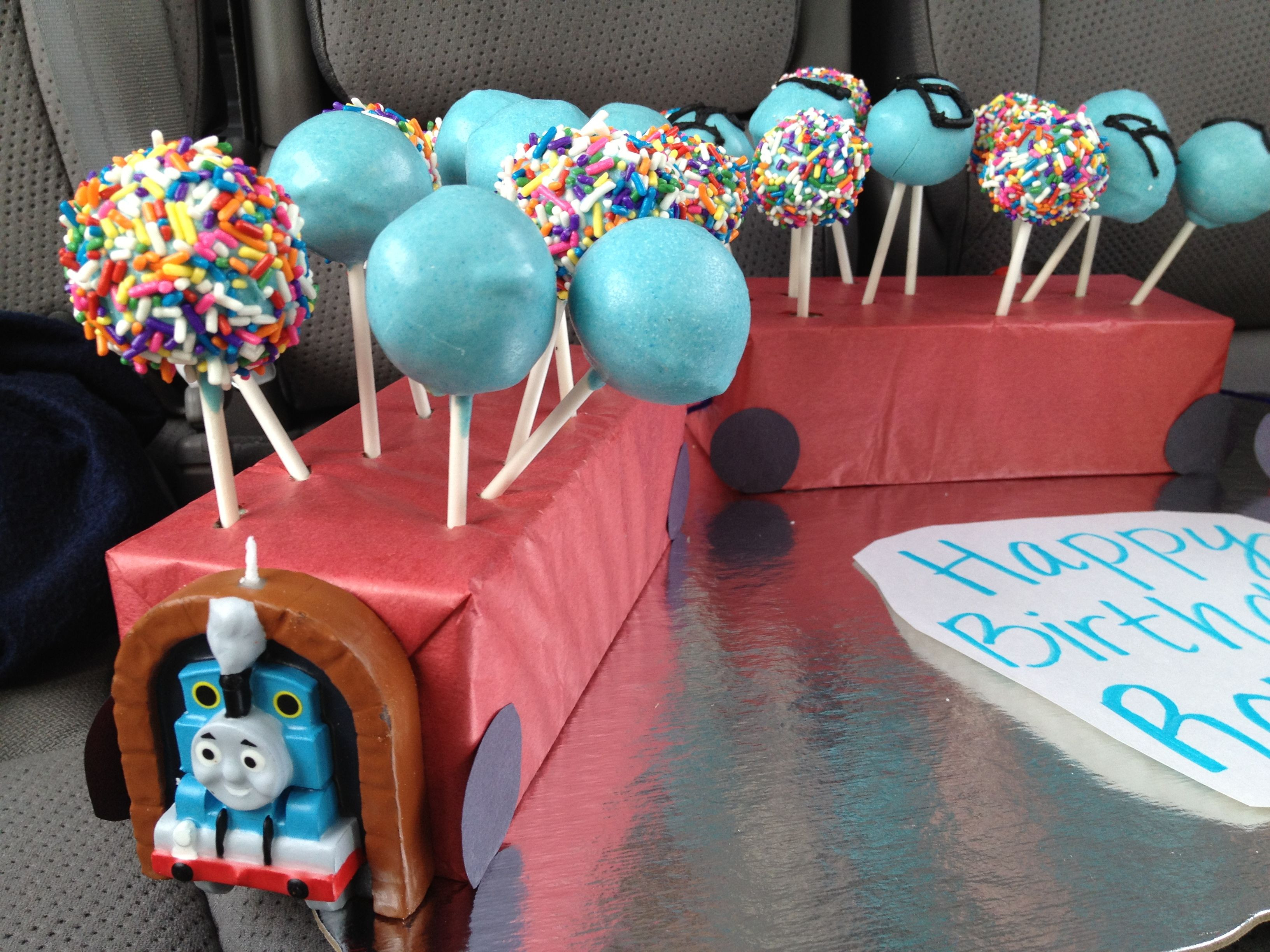 Best ideas about 4 Year Old Birthday Party Ideas . Save or Pin Cake Pops for 4 year old boy s birthday Now.