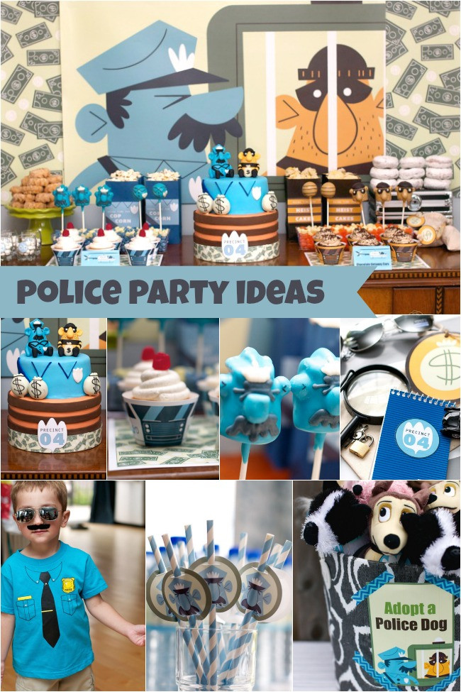 Best ideas about 4 Year Old Birthday Party Ideas . Save or Pin Police Birthday Party for 4 Year Old Boy Family Review Guide Now.