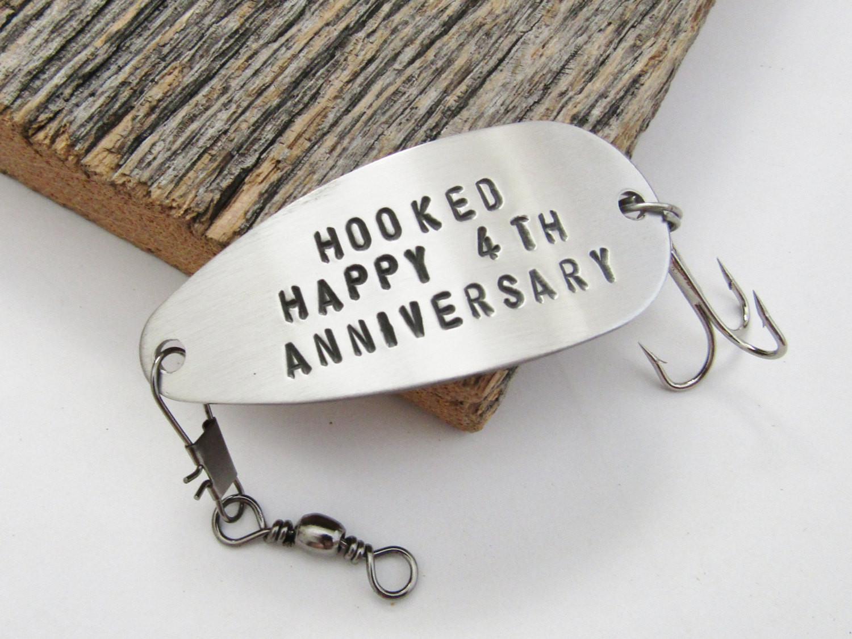 Best ideas about 4 Year Wedding Anniversary Gift Ideas For Him . Save or Pin 4th Anniversary Gift for Him 4 Year Anniversary Fourth Wedding Now.