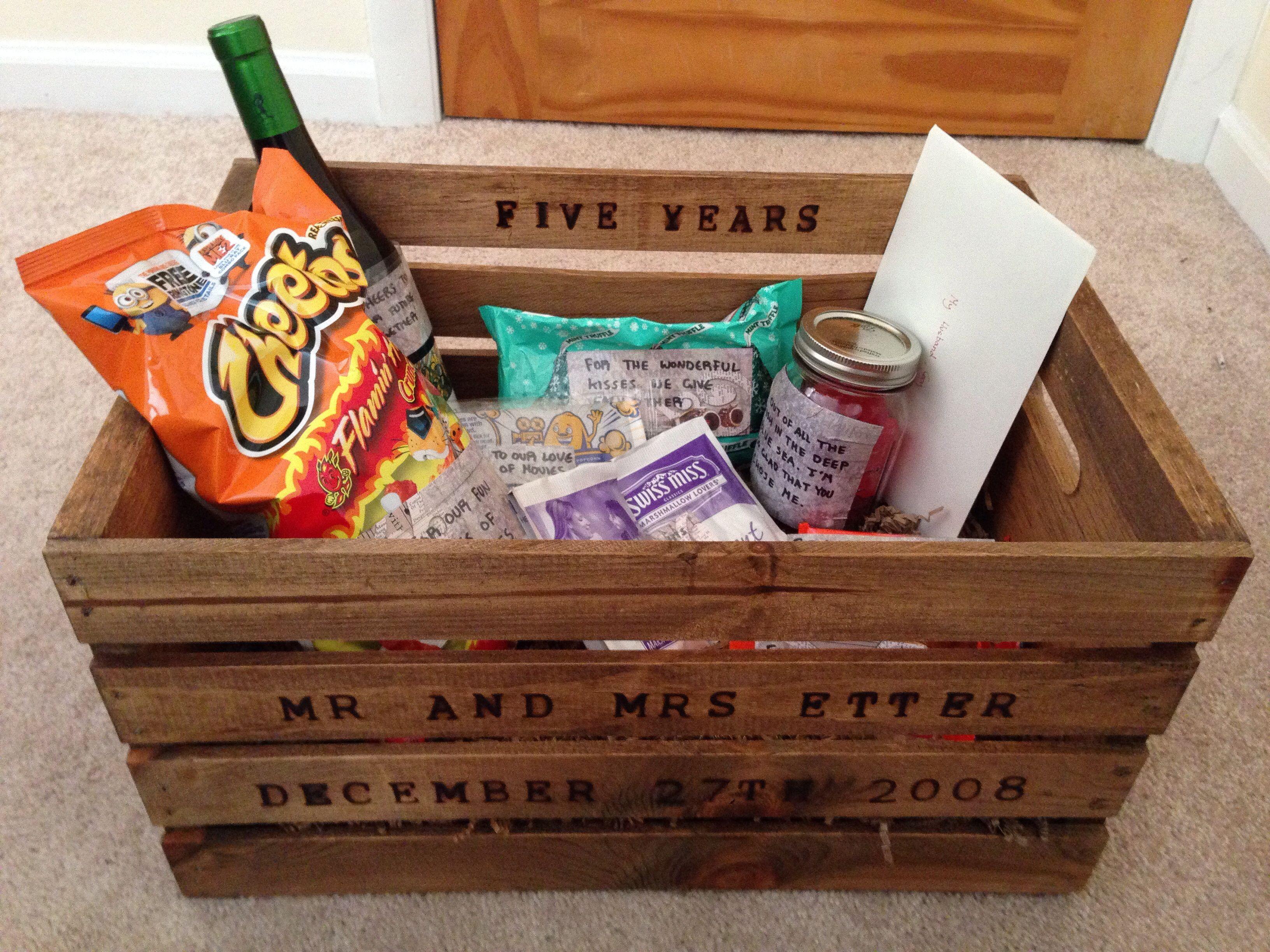 Best ideas about 4 Year Wedding Anniversary Gift Ideas For Him . Save or Pin Gift For 5 Year Anniversary creative Now.