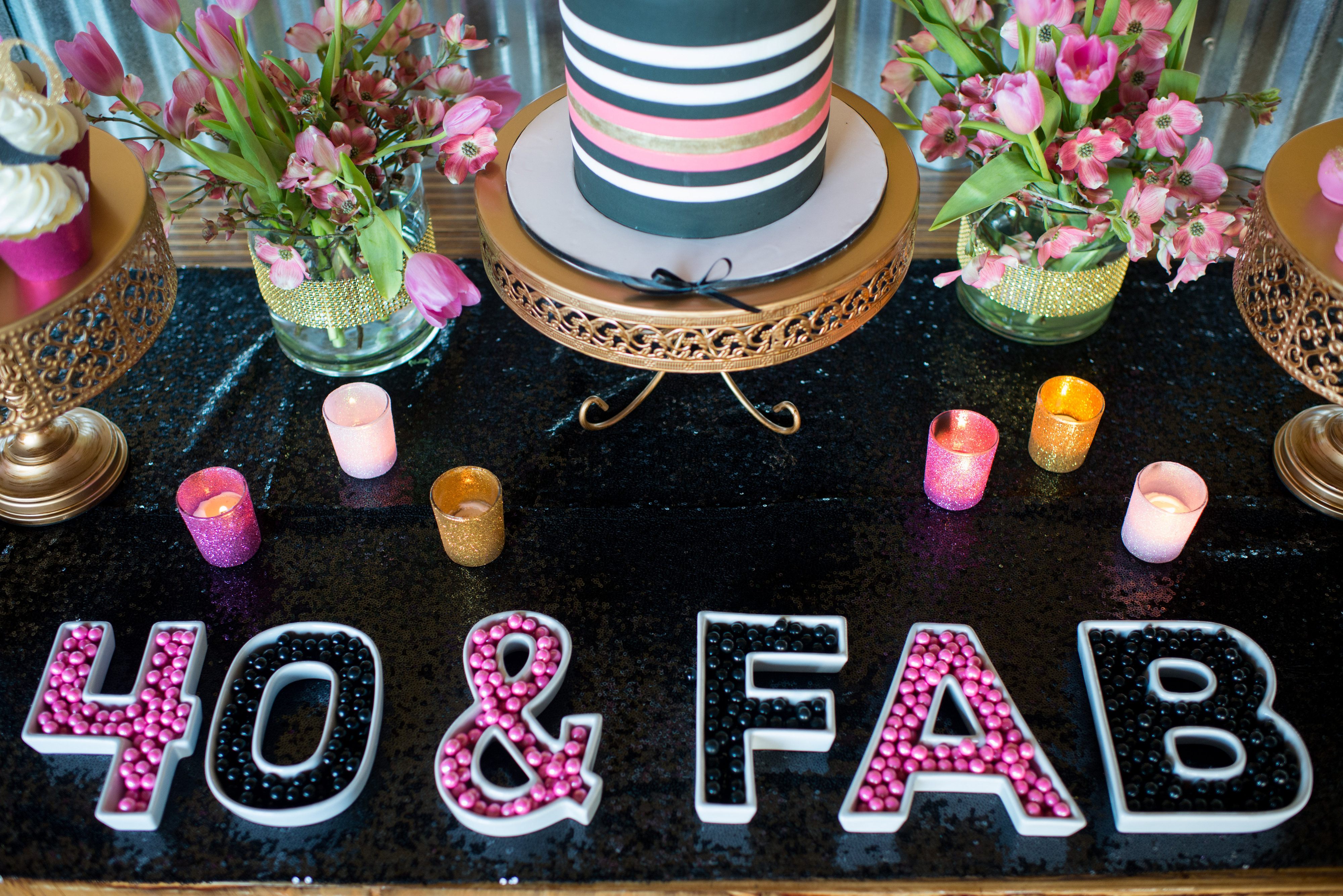 Best ideas about 40 Birthday Decorations . Save or Pin Glamorous 40th Birthday Party Pretty My Party Party Ideas Now.