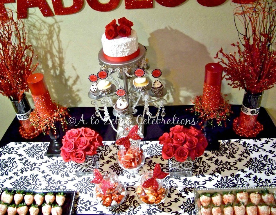 Best ideas about 40 Birthday Decorations . Save or Pin 40 & Fabulous Party – Style with Nancy Now.