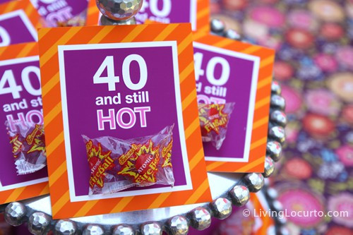 Best ideas about 40 Birthday Decorations . Save or Pin 40th Birthday Party Ideas Now.