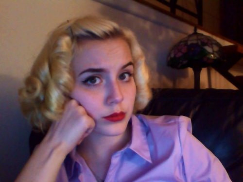Best ideas about 40'S Hairstyles . Save or Pin 40 s hair on Tumblr Now.