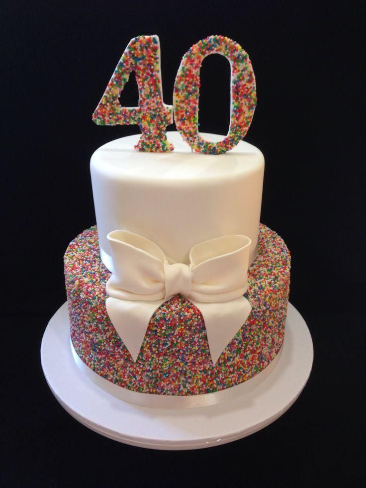 Best ideas about 40th Birthday Cake Ideas . Save or Pin Image result for 50th birthday cake ideas female Now.