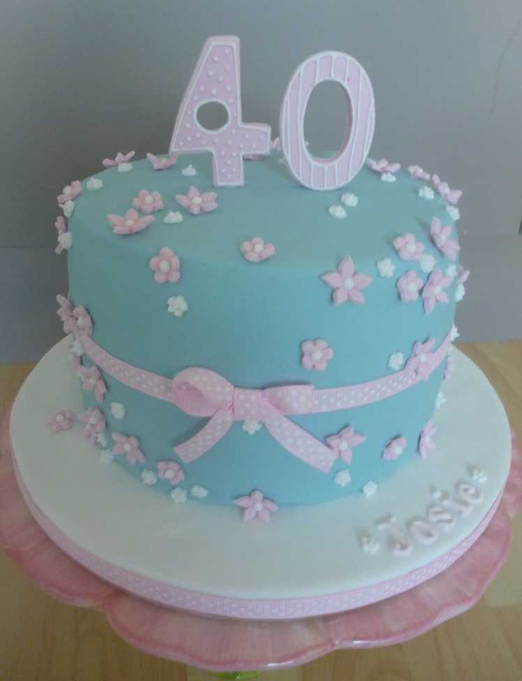Best ideas about 40th Birthday Cake Ideas . Save or Pin The Papoose Mamoose 40th Birthday Cake Gluten Free Now.