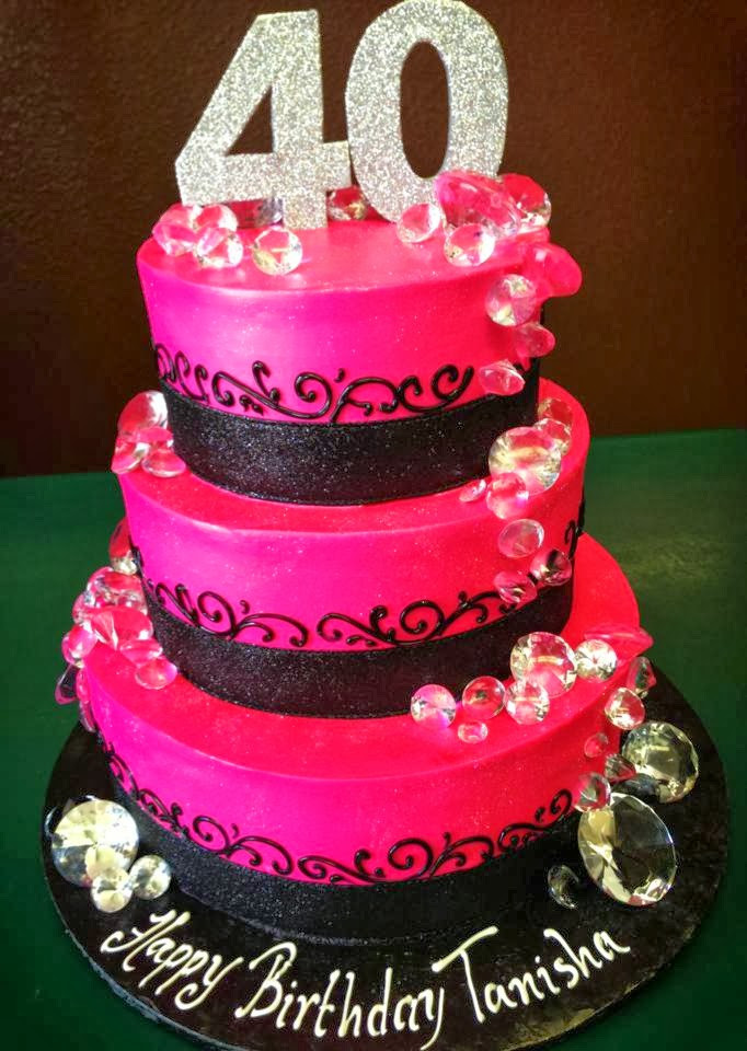 Best ideas about 40th Birthday Cake Ideas . Save or Pin Creative 40th Birthday Cake Ideas Crafty Morning Now.