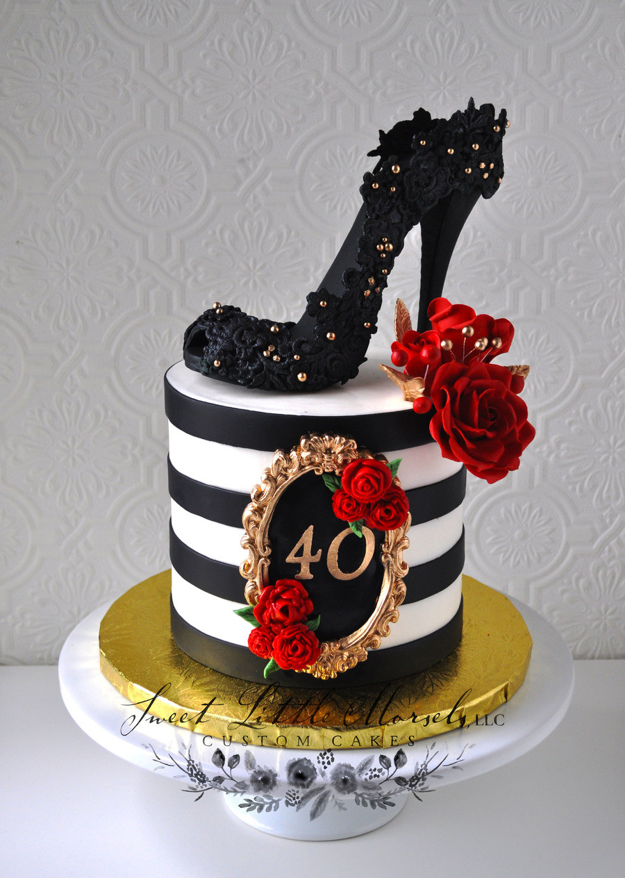 Best ideas about 40th Birthday Cake Ideas . Save or Pin 40Th Birthday Cake CakeCentral Now.