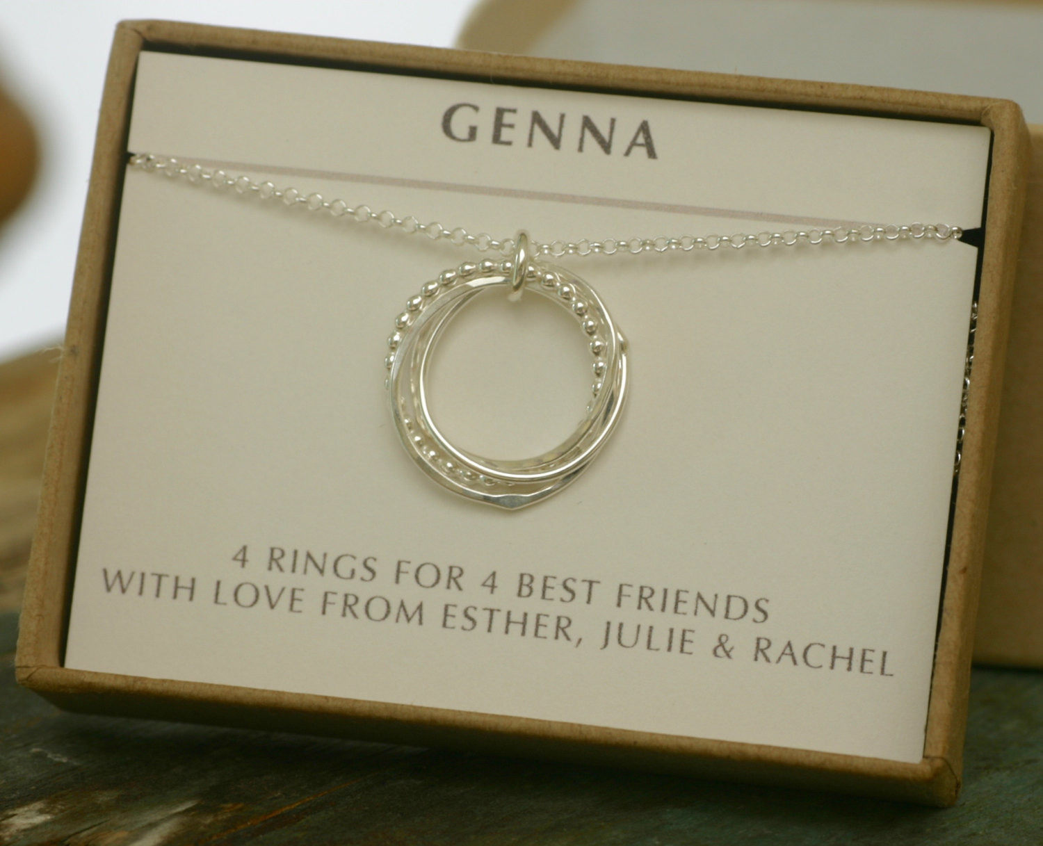 Best ideas about 40Th Birthday Gift Ideas For Best Friend . Save or Pin 40th birthday t 4 best friend necklace 4 by Now.