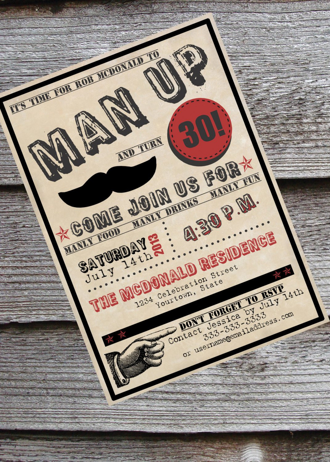 Best ideas about 40th Birthday Invitations For Him . Save or Pin 40th Birthday Invitations For Him Now.