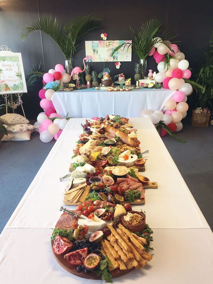 Best ideas about 40th Birthday Party Decorations Ideas . Save or Pin Kara s Party Ideas 40th Birthday Tropical Soiree Now.