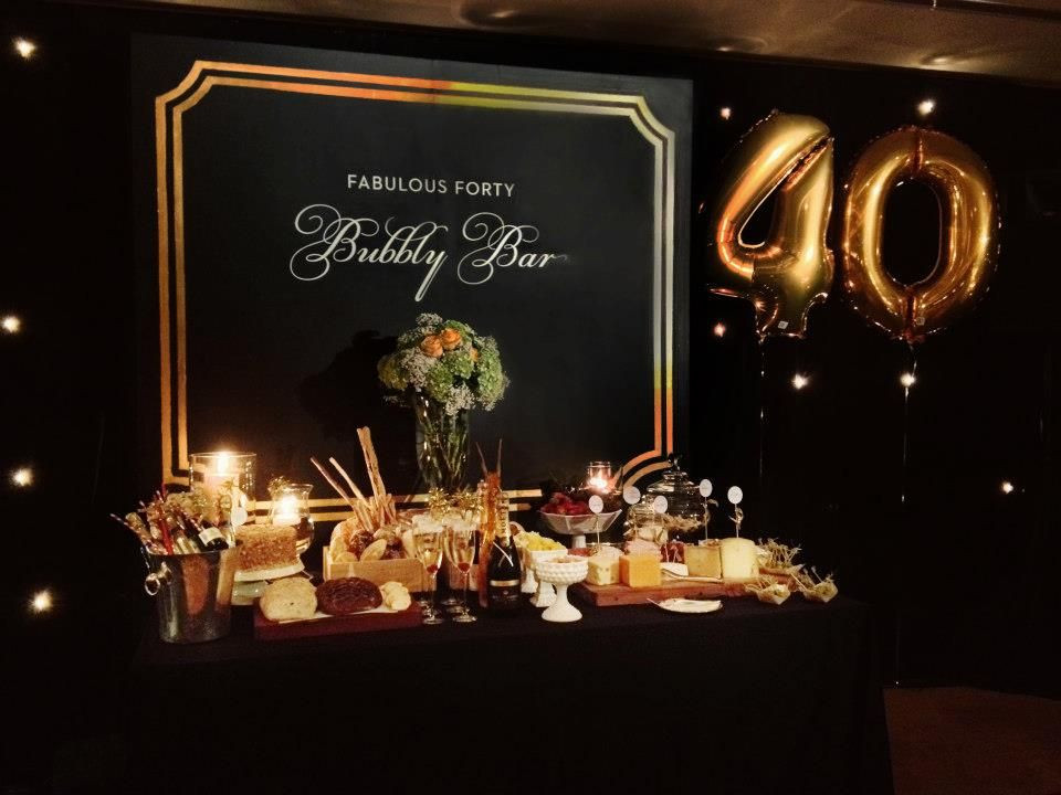 Best ideas about 40th Birthday Party Decorations Ideas . Save or Pin unique 40th birthday for husband Now.